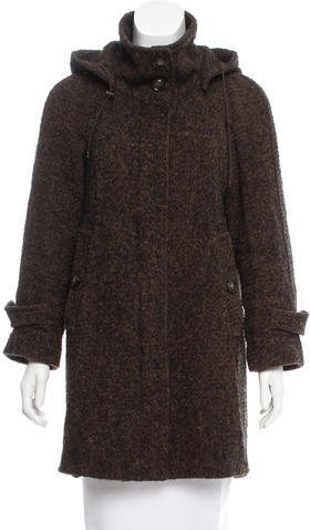 Max Mara MaxMara Weekend Wool Tweed Coat