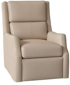 Thomas Laboratories Bradington-Young Leather Power Wall Hugger Recliner with Articulating Headrest Bradington-Young