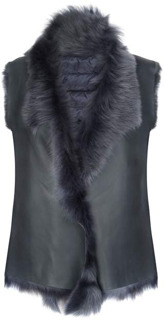 Gushlow & Cole Shearling And Down Gilet