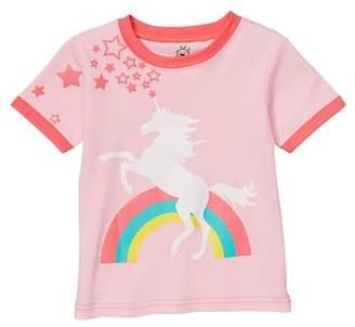 Doodle Pants Unicorn Shirt (Baby & Toddler Girls)