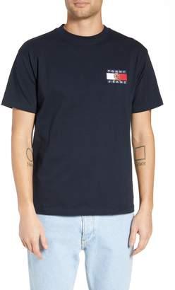 Tommy Jeans Crest Flag Logo T-Shirt
