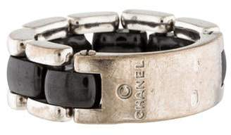 Chanel 18K Ceramic Ultra Ring