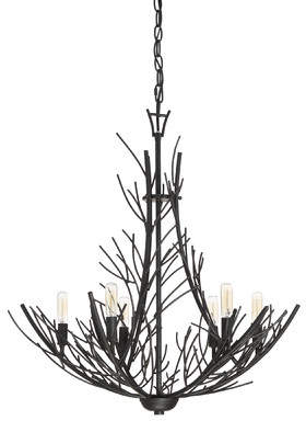 Loon Peak Azimuth 6-Light Candle-Style Chandelier