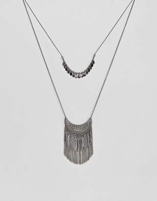 Pieces Layered Festival Necklace