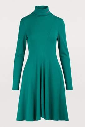Calvin Klein Long-sleeved mini dress