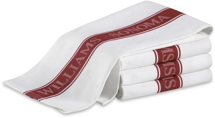 Williams-Sonoma Williams Sonoma Classic Logo Towels, Set of 4