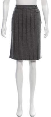 Tibi Wool Knee-Length Skirt