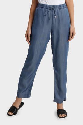 Tencel Pant with Straight Leg