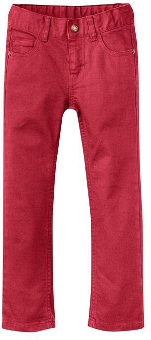 Petit Bateau Boy'S 5-Pocket Stretch Serge Pants Lined With Jersey