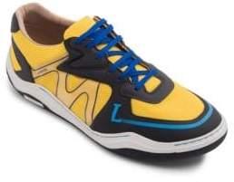 Lanvin Mesh Low-Top Sneakers