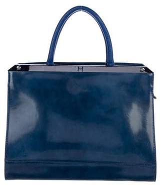Halston Large Leather Tote