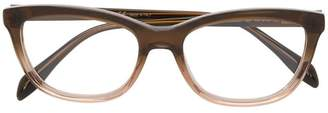 Alexander McQueen Eyewear gradient square glasses