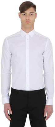 Eton Super Slim Fit Cotton Poplin Shirt