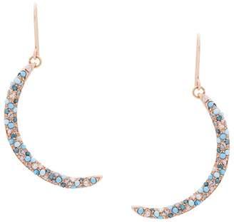 Carolina Bucci 18kt gold and diamonds Smile Earrings
