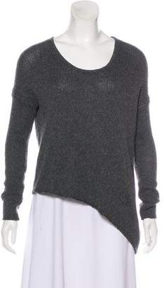 Helmut Lang Asymmetrical Knit Sweater