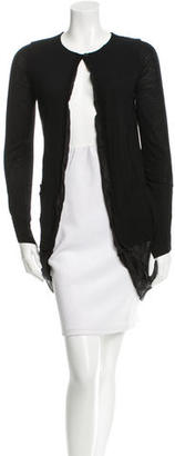 Vera Wang Draped Wool Sweater $95 thestylecure.com