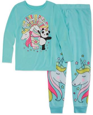 Arizona Unicorn 2pc Pajama Set - Girls 4-16