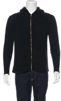 The Elder Statesman Cashmere Hooded Sweatshirt
