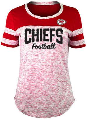 5th & Ocean Women Kansas City Chiefs Space Dye T-Shirt