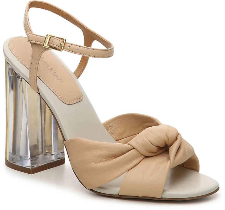 Calvin Klein Women's Laureen Crevo Sandal