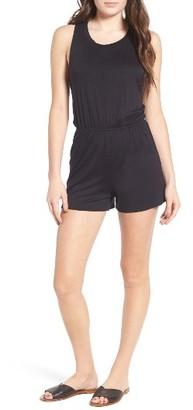 Women's Hinge Stretch Jersey Romper $59 thestylecure.com