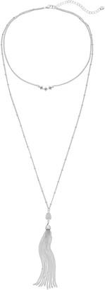 Lauren Conrad Starburst Layered Choker Necklace