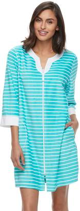 Croft & Barrow Women's Pajamas: Honey Knit Duster Robe
