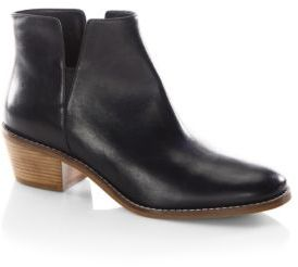 Cole Haan Abbot Leather Booties $200 thestylecure.com