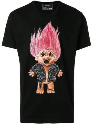 Dom Rebel Troll print T-shirt