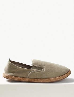 Marks and Spencer Cotton Slip-on Espadrilles