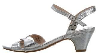 Stuart Weitzman Girls' Verna Metallic Sandals