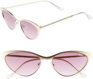 Quay Boss 53mm Cat Eye Sunglasses