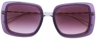 Elie Saab square oversized sunglasses