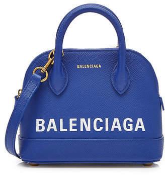 Balenciaga Ville Mini Crossbody Leather Bag