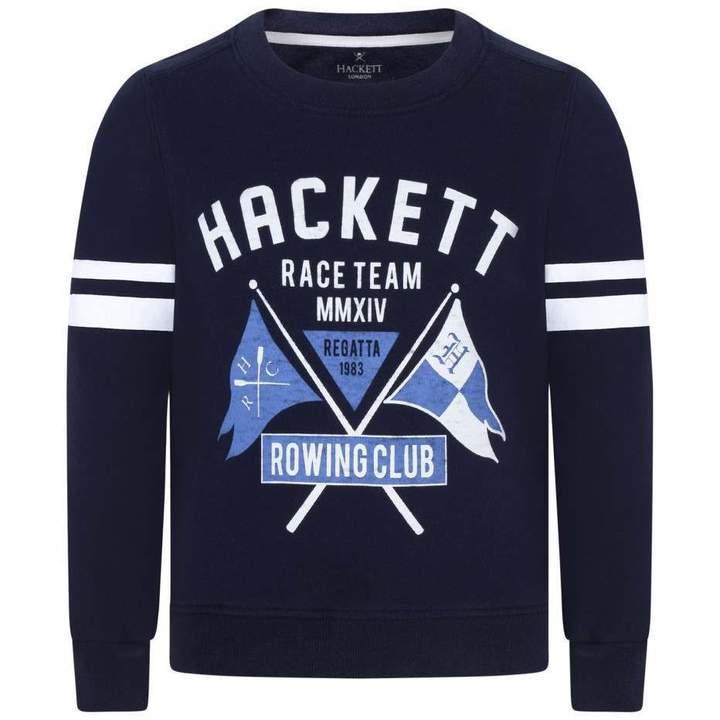 HackettBoys Navy Racing Team Sweater