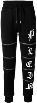 Philipp Plein zipped track trousers