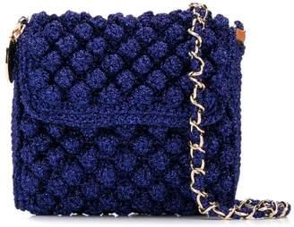 M Missoni lurex knit crossbody bag