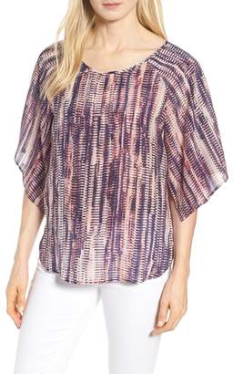 Nic+Zoe Twilight Hours Silk Blend Top