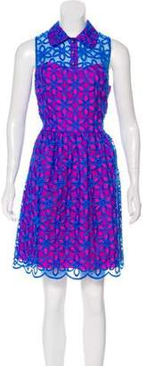 Lilly Pulitzer Eyelet Knee-Length Dress