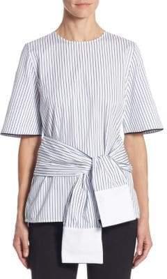 Victoria Beckham Victoria, Cotton Wrap Top