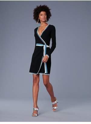 Diane von Furstenberg Sweater Wrap Dress
