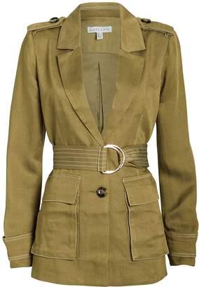 Shona Joy Ellington Twill Belted Cargo Jacket