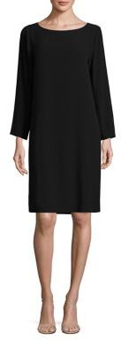 Eileen Fisher Silk Boatneck Tunic $318 thestylecure.com