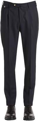 Pt01 18cm Alfred Brown Wool Fabric Pants