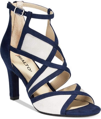 Rialto Ria Colorblocked Dress Sandals Women's Shoes