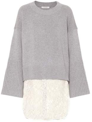 Schumacher Dorothee Wool and cashmere-blend sweater