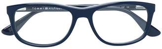 Tommy Hilfiger rectangular glasses
