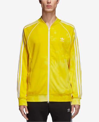 adidas Men's Hu Holi Printed Terry Track Jacket