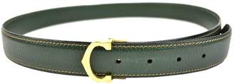 Cartier Green Leather Belts