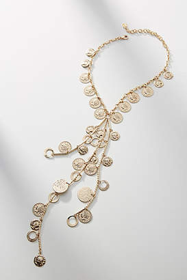 Anthropologie Dannijo Gaia Coin Y-Necklace